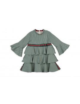 Vestido infantil Pata de Gallo